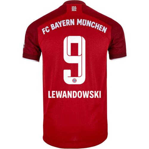 2021/22 adidas Robert Lewandowski Bayern Munich Home Authentic Jersey