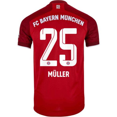 2021/22 adidas Thomas Muller Bayern Munich Home Authentic Jersey