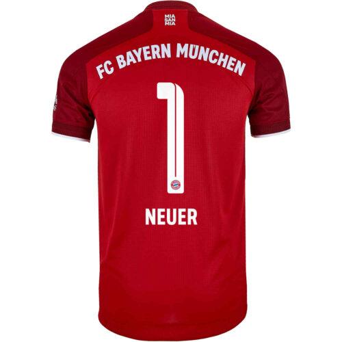 2021/22 adidas Manuel Neuer Bayern Munich Home Authentic Jersey