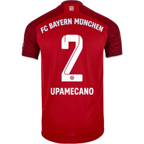 2021/22 adidas Benjamin Pavard Bayern Munich Home Authentic Jersey
