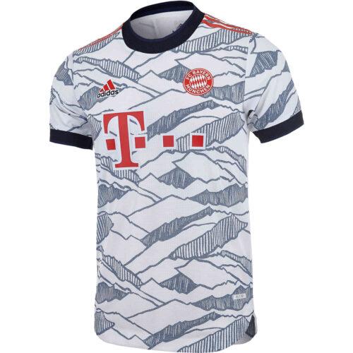 2021/22 adidas Bayern Munich 3rd Authentic Jersey