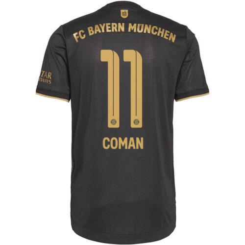 2021/22 adidas Kingsley Coman Bayern Munich Away Authentic Jersey
