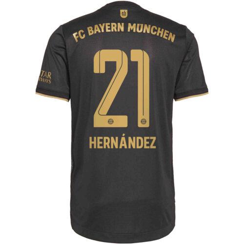 2021/22 adidas Lucas Hernandez Bayern Munich Away Authentic Jersey