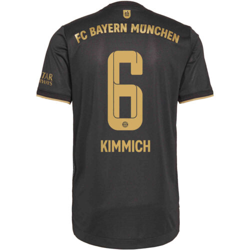 2021/22 adidas Joshua Kimmich Bayern Munich Away Authentic Jersey