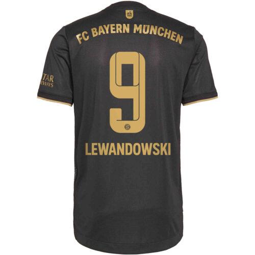 2021/22 adidas Robert Lewandowski Bayern Munich Away Authentic Jersey