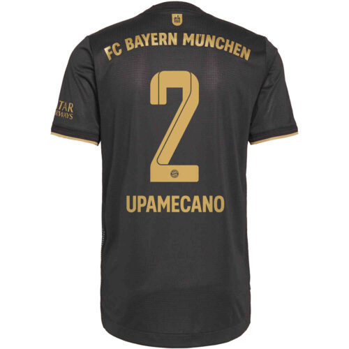 2021/22 adidas Benjamin Pavard Bayern Munich Away Authentic Jersey