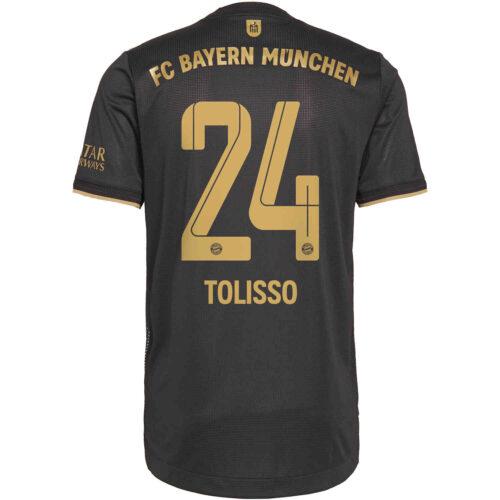 2021/22 adidas Corentin Tolisso Bayern Munich Away Authentic Jersey