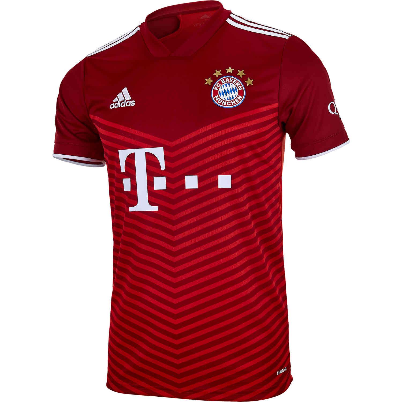 2021/22 adidas Bayern Munich Home Jersey - SoccerPro