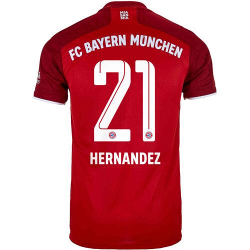 2021/22 adidas Lucas Hernandez Bayern Munich Home Jersey