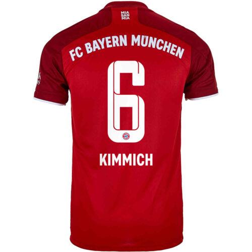 2021/22 adidas Joshua Kimmich Bayern Munich Home Jersey