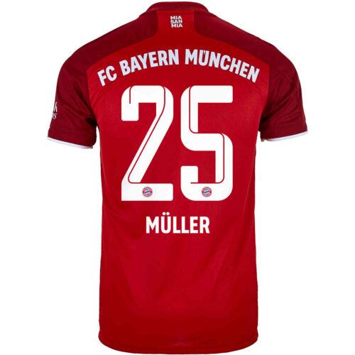 2021/22 adidas Thomas Muller Bayern Munich Home Jersey