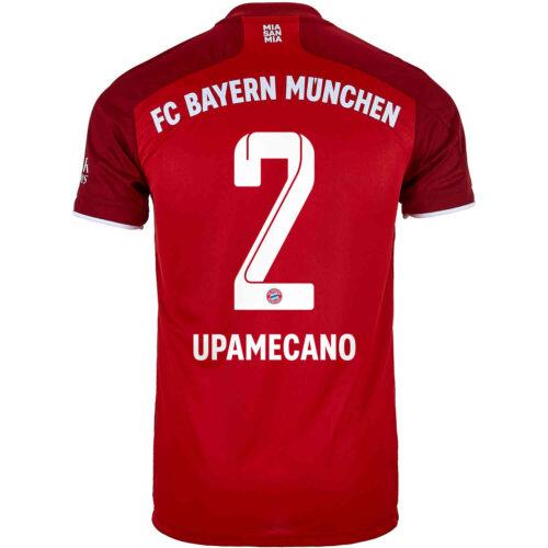 2021/22 adidas Dayot Upamecano Bayern Munich Home Jersey