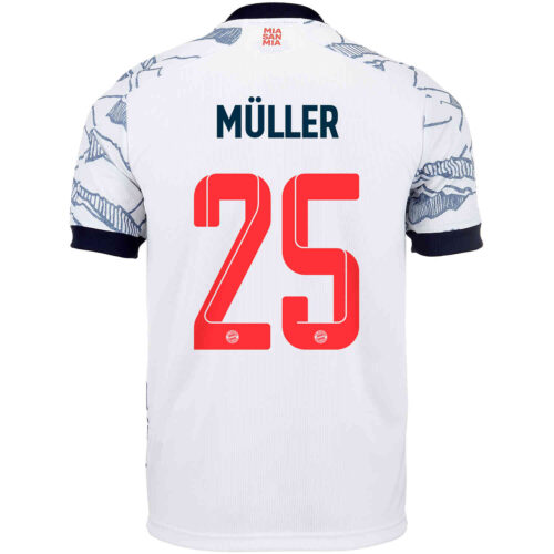 2021/22 adidas Thomas Muller Bayern Munich 3rd Jersey