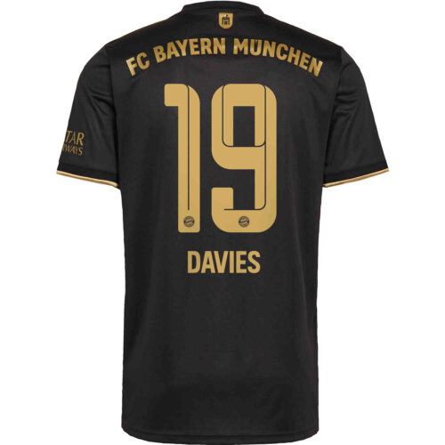 2021/22 adidas Alphonso Davies Bayern Munich Away Jersey