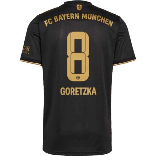 2021/22 adidas Leon Goretzka Bayern Munich Away Jersey