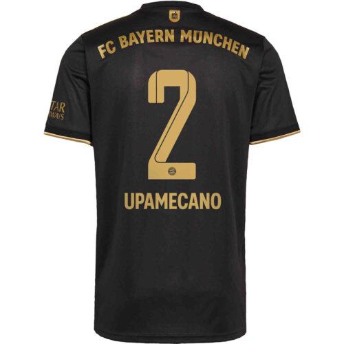 2021/22 adidas Benjamin Pavard Bayern Munich Away Jersey