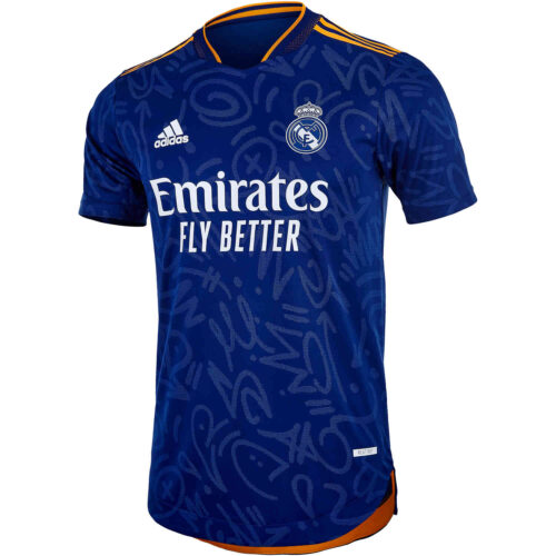 2021/22 adidas Real Madrid Away Authentic Jersey