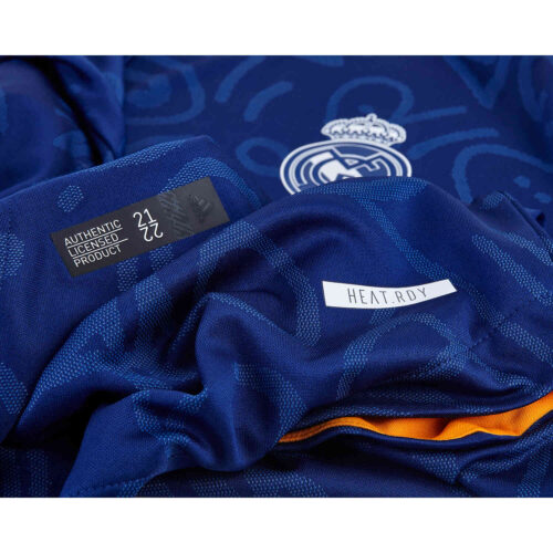 2021/22 adidas Vinicius Jr Real Madrid Away Authentic Jersey