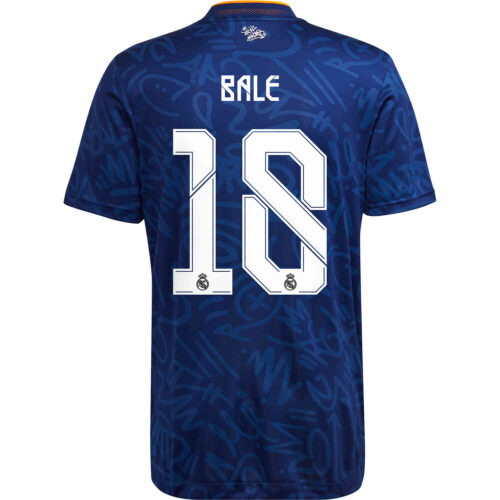 2021/22 adidas Gareth Bale Real Madrid Away Authentic Jersey