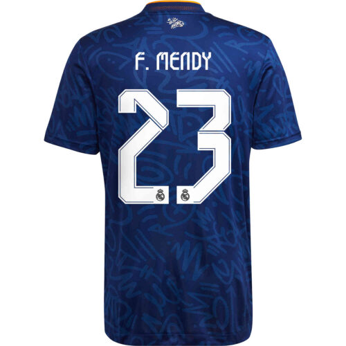2021/22 adidas Ferland Mendy Real Madrid Away Authentic Jersey