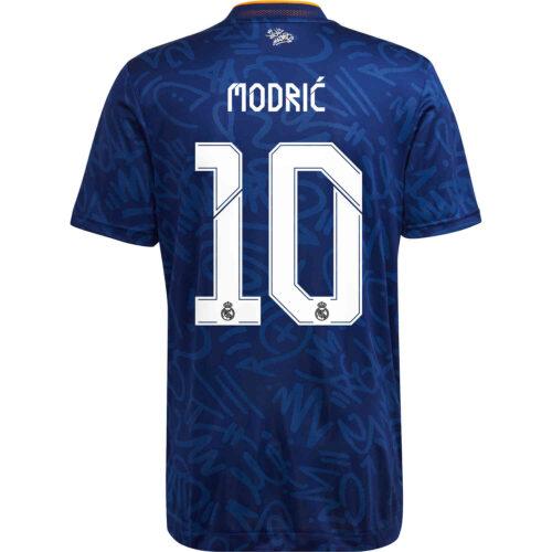 2021/22 adidas Luka Modric Real Madrid Away Authentic Jersey