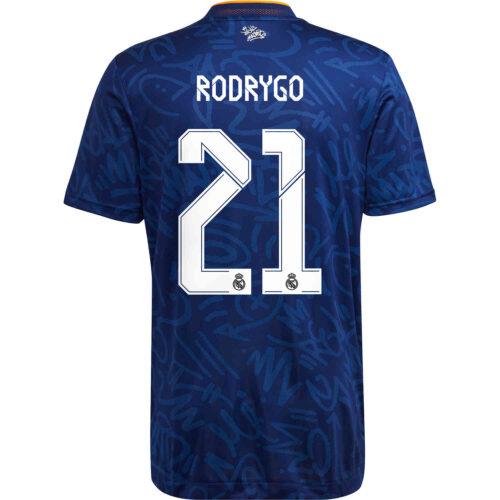 2021/22 adidas Rodrygo Real Madrid Away Authentic Jersey