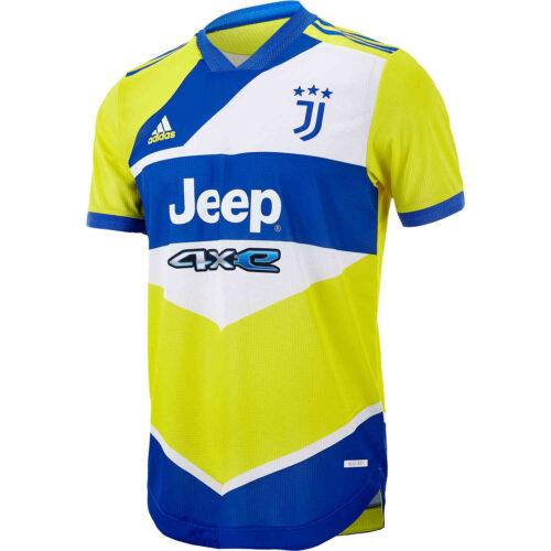 2021/22 adidas Juventus 3rd Authentic Jersey