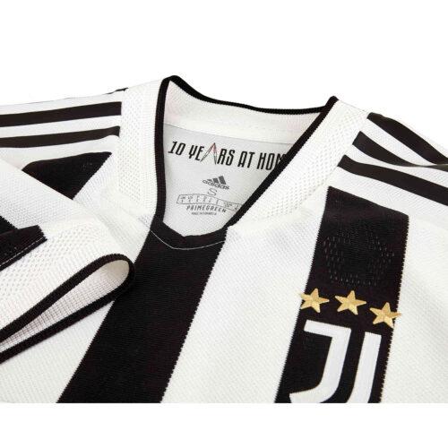 2021/22 adidas Matthijs de Ligt Juventus Home Authentic Jersey