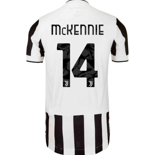 2021/22 adidas Weston McKennie Juventus Home Authentic Jersey