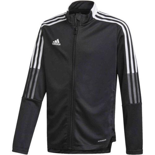 Kids adidas Tiro 21 Track Jacket – Black