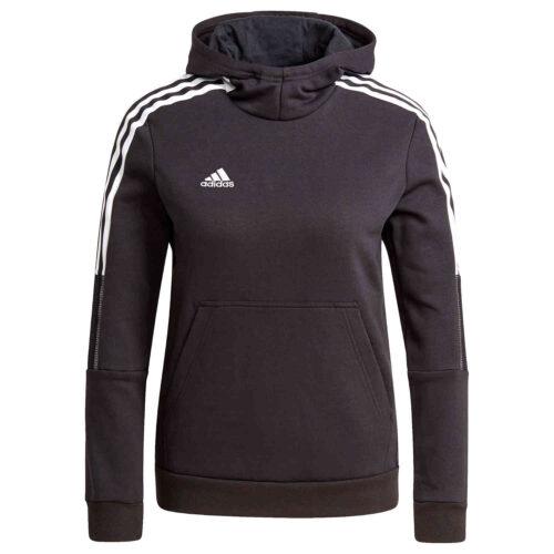 Kids adidas Tiro21 Fleece Hoodie – Black