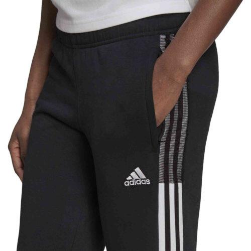 Womens adidas Tiro21 Sweat Pants – Black