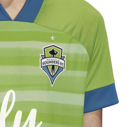 2020 adidas Seattle Sounders Home Authentic Jersey