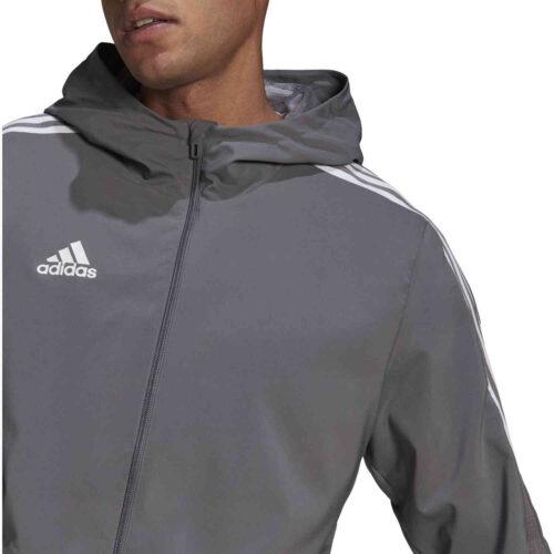 adidas Tiro 21 Windbreaker Jacket – Team Grey Four