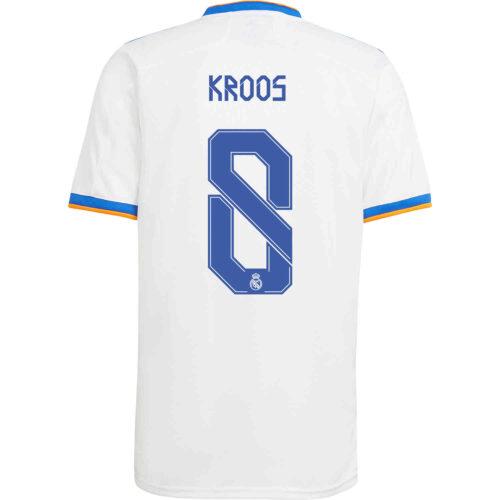 2021/22 adidas Toni Kroos Real Madrid Home Jersey