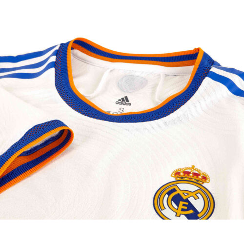 2021/22 adidas Real Madrid Home Authentic Jersey