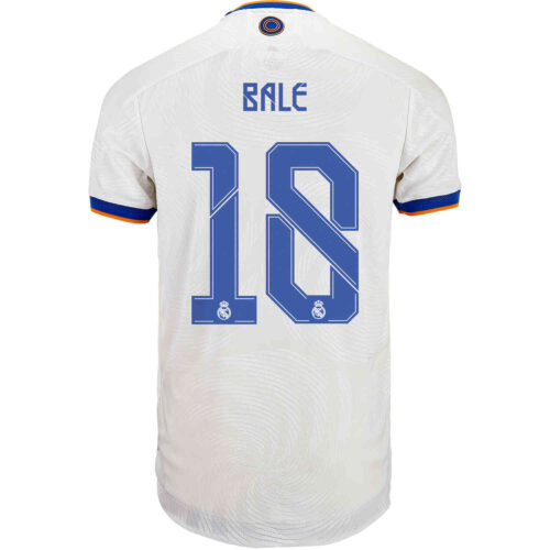 2021/22 adidas Gareth Bale Real Madrid Home Authentic Jersey