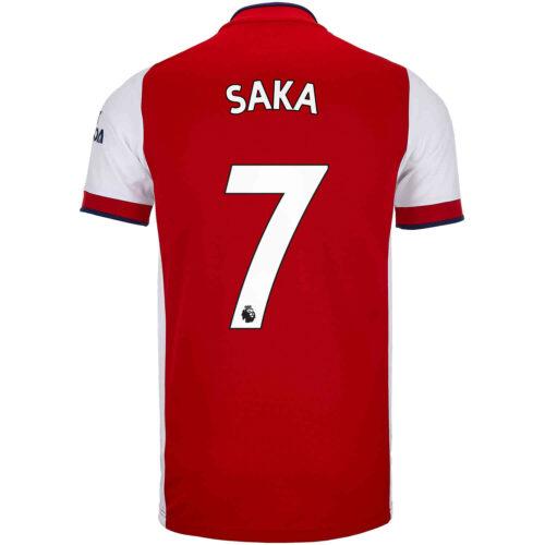 2021/22 Kids adidas Bukayo Saka Arsenal Home Jersey
