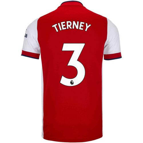 2021/22 Kids adidas Kieran Tierney Arsenal Home Jersey