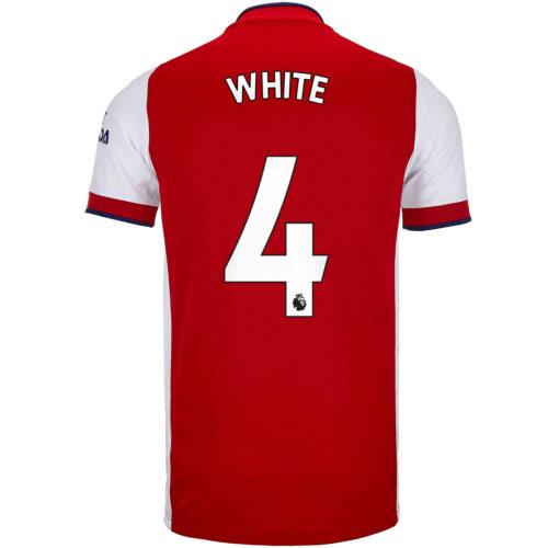 2021/22 Kids adidas Ben White Arsenal Home Jersey