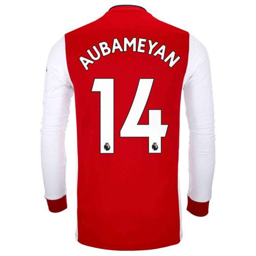 2021/22 adidas Pierre-Emerick Aubameyang Arsenal L/S Home Jersey