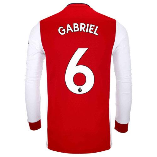 2021/22 adidas Gabriel Arsenal L/S Home Jersey