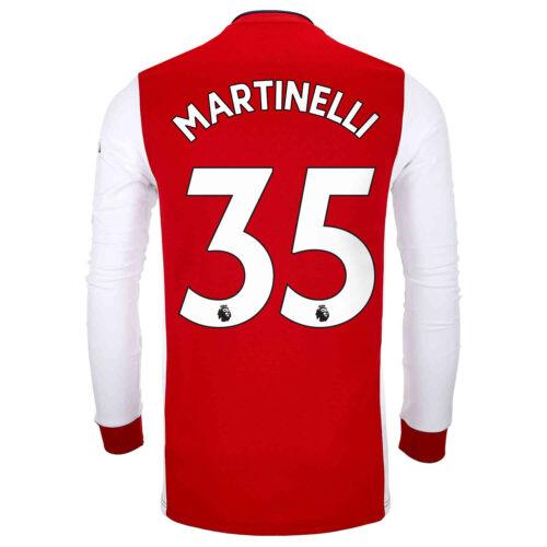 2021/22 adidas Gabriel Martinelli Arsenal L/S Home Jersey