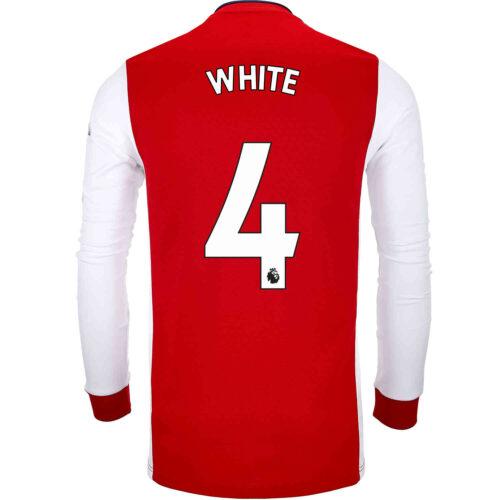 2021/22 adidas Ben White Arsenal L/S Home Jersey