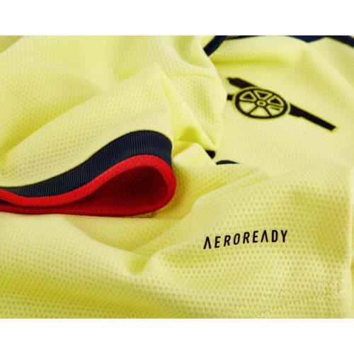2021/22 Womens adidas David Luiz Arsenal Away Jersey