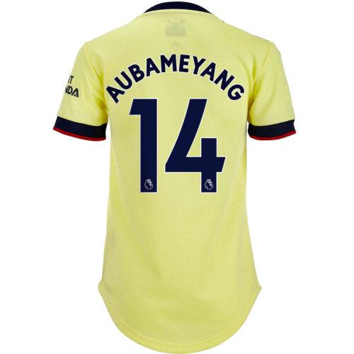 2021/22 Womens adidas Pierre-Emerick Aubameyang Arsenal Away Jersey
