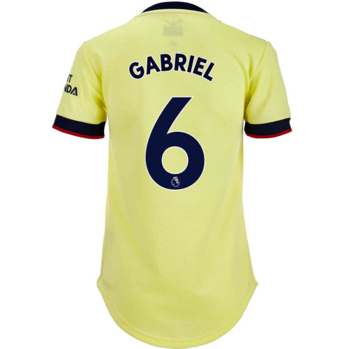 2021/22 Womens adidas Gabriel Arsenal Away Jersey