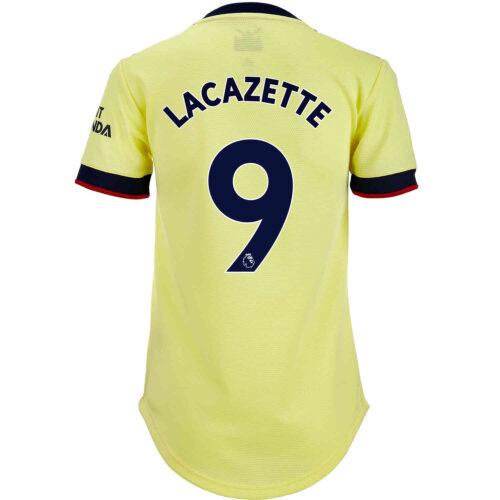 2021/22 Womens adidas Alexandre Lacazette Arsenal Away Jersey