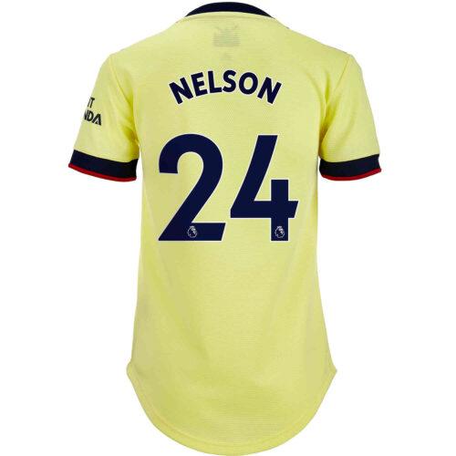 2021/22 Womens adidas Reiss Nelson Arsenal Away Jersey