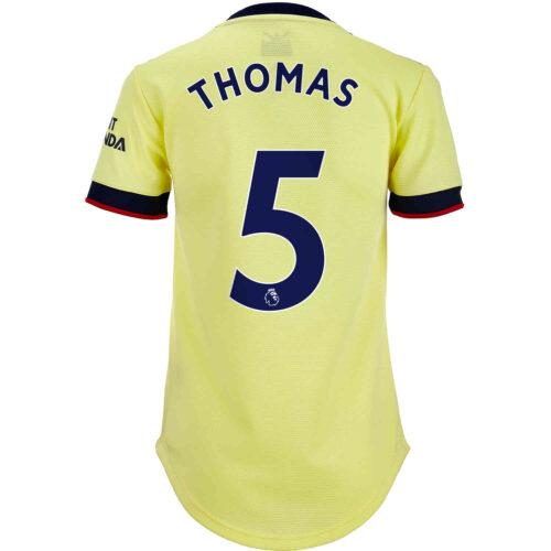 2021/22 Womens adidas Thomas Partey Arsenal Away Jersey